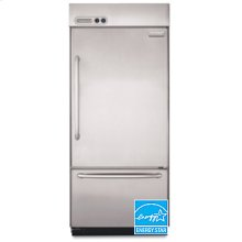 20.9 cu. ft. Bottom Mount Refrigerator Pro Line® Series(Stainless Steel)