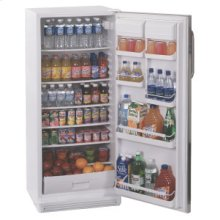 """Full-sized all refrigerator with automatic defrost in thin 24"""" width"""