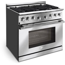 Professional Series 36'' Dual-Fuel Freestanding Range