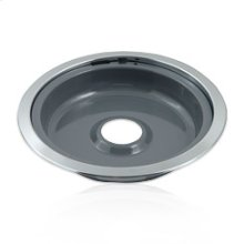 Gray Porcelain Replacement Burner Bowl - 8 in.(Oven & Range)