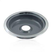 Gray Porcelain Replacement Burner Bowl - 8 in.(Oven & Range)