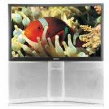 """47"""" Widescreen Rear Projection HDTV Monitor"""
