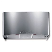 """36"""" CONTEMPORARY STAINLESS STEEL WALL HOOD"""