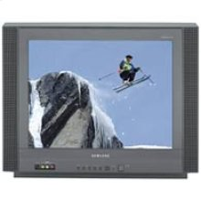 "20"" Flat Stereo Television with DVD Component Video Input"