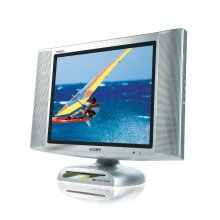 """15"""" TFT LCD TV/MONITOR with FRONT LOADING DVD PLAYER"""