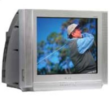 """27"""" DynaFlat™ TV With DVD Component Input"""