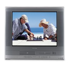 "27"" Diagonal FST PURE® TV/DVD/VCR Combination with card slot"