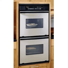 27-Inch Whirlpool Gold® Double Built-In Oven, Self Cleaning Upper And Lower Oven With Hidden Auto Latch