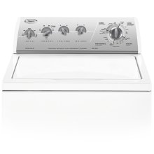 Whirlpool® 12 Cycle, Super Capacity Plus Washer (This is a Stock Photo, actual unit (s) appearance may contain cosmetic blemishes. Please call store if you would like actual pictures). This unit carries our 6 month warranty, MANUFACTURER WARRANTY and REBATE NOT VALID with this item. ISI 34418