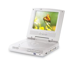 """5.6"""" TFT PORTABLE DVD PLAYER with SWIVEL SCREEN"""