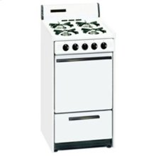 SUMMIT STM1107 is a 20 inch gas range with spark ignition and a lower broiler compartment. Made in USA