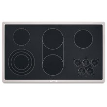 5 Elements Premium Surface with Subtle Watermark PRO LINE® Series Electric 36 in. Width(Stainless Steel)
