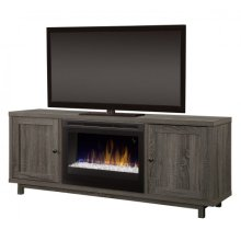 Jesse Media Console Electric Fireplace