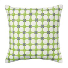Starboard Pillow, LIME, 22X22