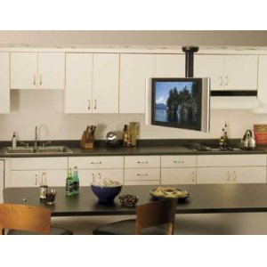 """Black Full-Motion Ceiling Mount for 23"""" - 40"""" flat-panel TVs"""