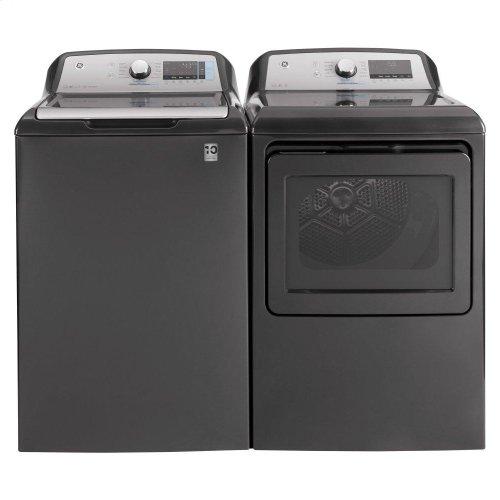 GE® 5.0 cu. ft. Capacity Smart Washer with SmartDispense