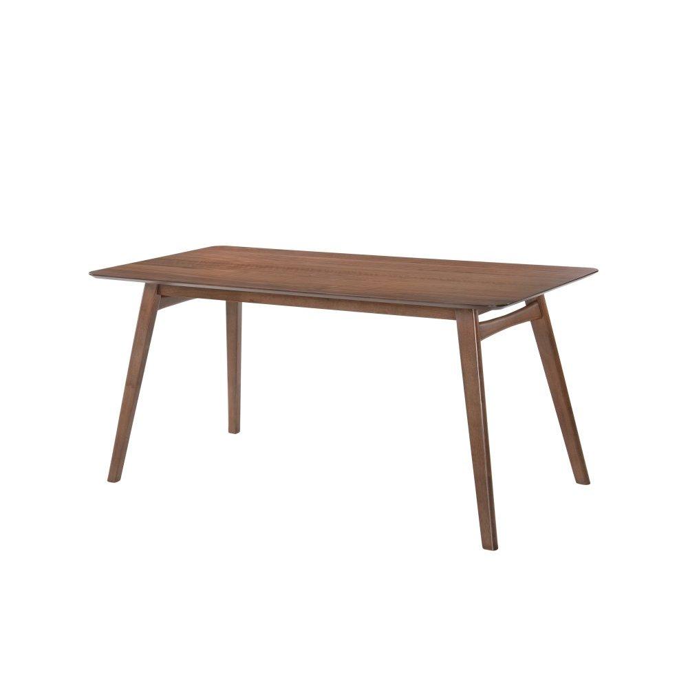 Emerald Home Simplicity Triangular Dining Table Walnut D550-17