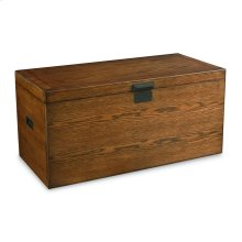 Anniversary Oak Trunk Coffee Table With Storage
