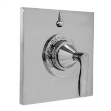 Thermostatic Shower Set with Lisse Handle and One Volume Control