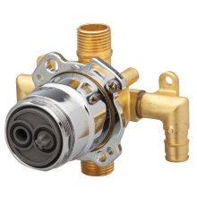 New - Treysta Tub & Shower Valve- Vertical Inputs Without Stops- Cold Expansionpex