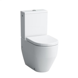 White Two-piece WC, siphonic action, Dual-Flush Product Image