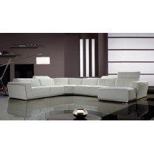 Divani Casa Tempo - Contemporary Leather Sectional Sofa