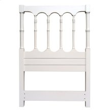 Island Spindle Twin Hb - Wht
