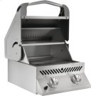 Built-in SIZZLE ZONE Two Infrared Burners , Stainless Steel , Natural Gas Product Image