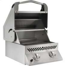 Built-in SIZZLE ZONE Two Infrared Burners , Stainless Steel , Propane