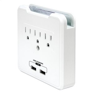 purePower CHARGE  Outlet & USB Surge Protector purePower CHARGE