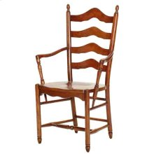 Deluxe Side Chair with Upholstered Seat