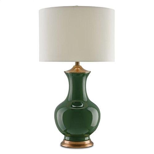 Lilou Green Table Lamp