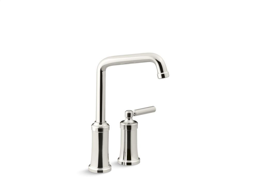 Bar Faucet - Nickel Silver