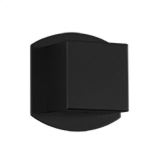 "1/2"" Volume Control SQU + SAFIRE - Black Product Image"