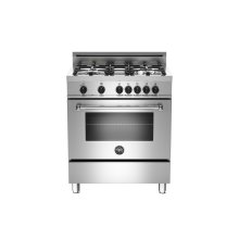 30 4-Burner, Electric Oven Stainless