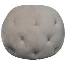 Barb Round Tufted Ottoman