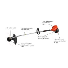 ECHO GT-225, String Trimmer, Weed Eater, Lightweight Curved Shaft