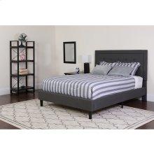Queen Platform Bed  Queen Size Platform Bed Frame with Headboard