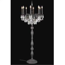 8208 Rosalia Collection Floor Lamp Dark Bronze Finish