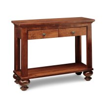 Georgetown Sofa Table w/2 Drawers