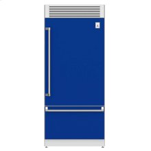 "36"" Pro Style Bottom Mount, Top Compressor Refrigerator - KRP Series - Prince"