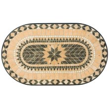 "Loretto 39"" Oval Coffee Table Top"
