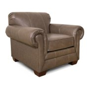 Monroe Leather Chair 1434SLS Product Image