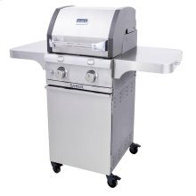 Cast Stainless 2-Burner Gas Grill