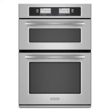 30-Inch Steam-Assist Combination Microwave Wall Oven, Architect® Series II - Stainless Steel