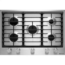 "30"" Gas Cooktop, Stainless Steel"