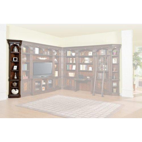 CORSICA Outside Corner Bookcase