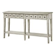Newcastle 2 Drawer Antique White Console Product Image