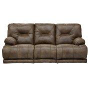"""Lay Flat"" Recl Sofa w/3x DDT - Brandy Product Image"