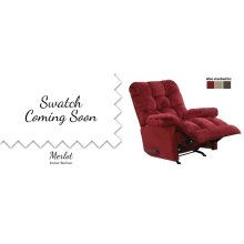 Merlot Heat & Massage Rocker/Recliner